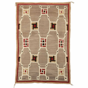 Crystal - Optical Navajo Rug Weaving : Historic : PC 48 - Getzwiller's Nizhoni Ranch Gallery