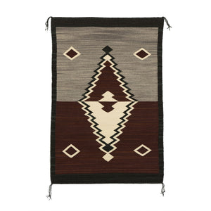 HOLD - Navajo Double Saddle Blanket : GH : Churro 1511 - Getzwiller's Nizhoni Ranch Gallery