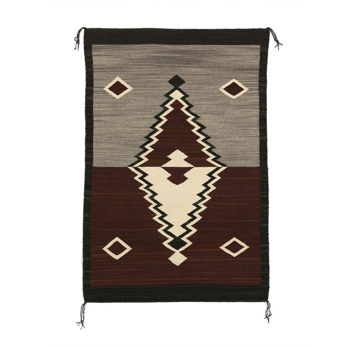 SOLD - Navajo Double Saddle Blanket : GH : Churro 1511