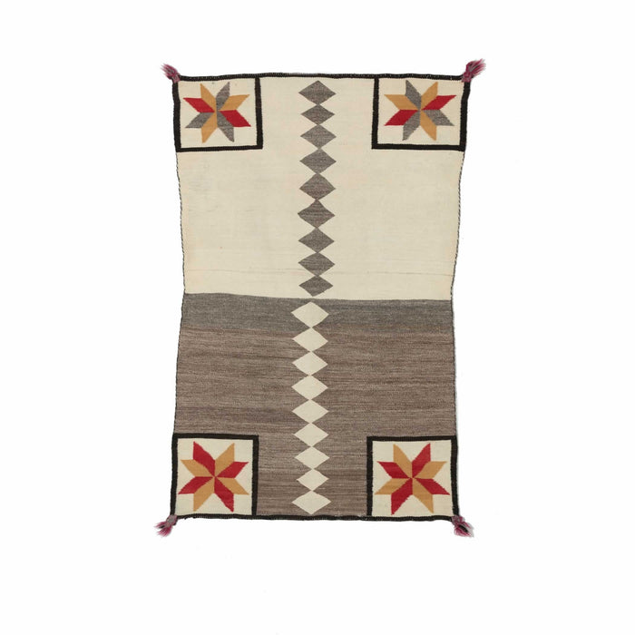 Saddle blanket - Double Navajo Weaving : Historic : PC 38
