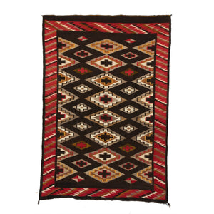 Red Mesa Navajo Weaving : Historic : GHT 2244 - Getzwiller's Nizhoni Ranch Gallery