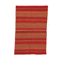 Twill Double Saddle Blanket Navajo Weaving : Historic : PC 85