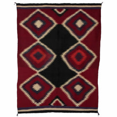 Germantown Serape Navajo Weaving : Historic : GHT 783