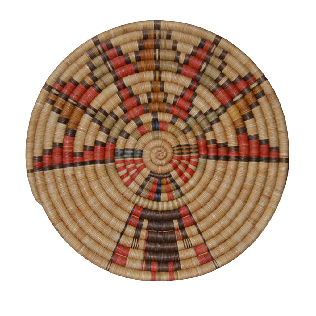 SOLD Basket : Hopi Coiled Plaque - Palhik Mana : Basket2 - Getzwiller's Nizhoni Ranch Gallery