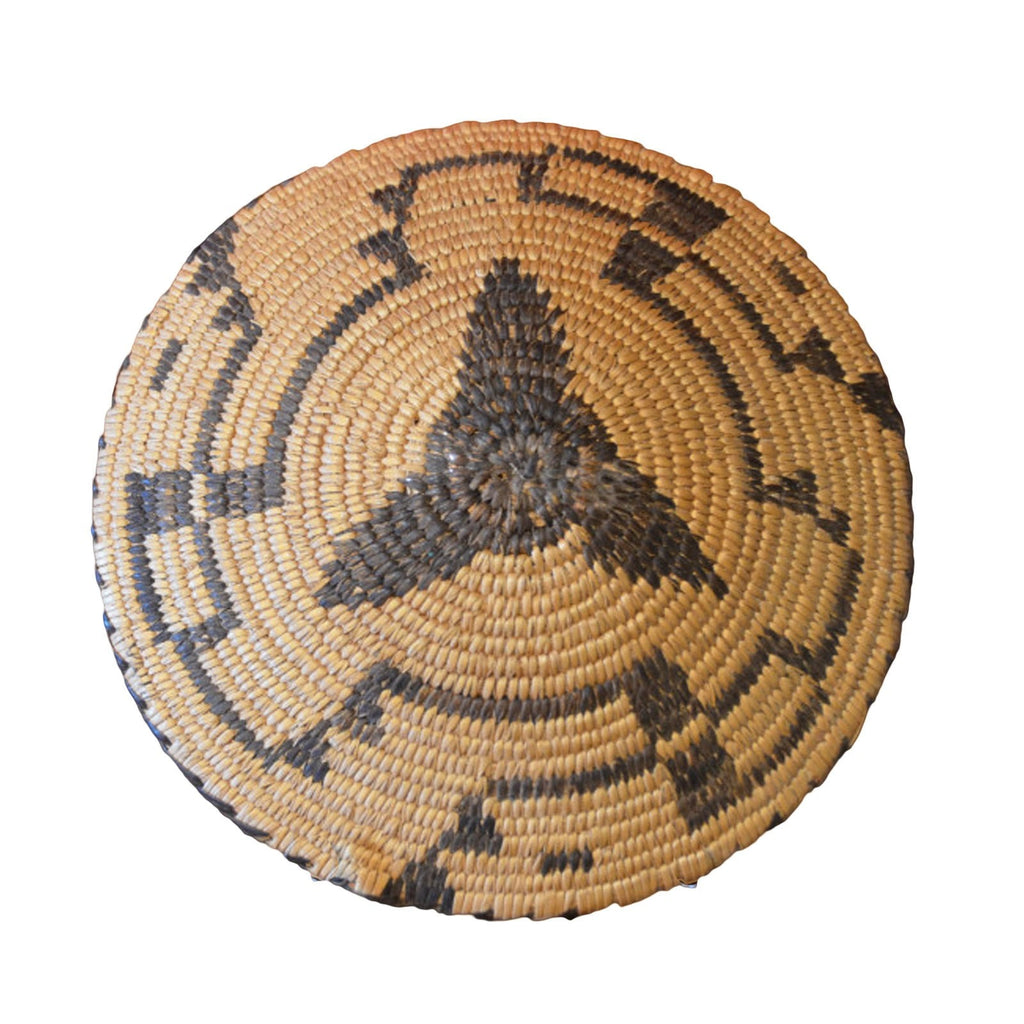Native American Vintage Miniature Pima Willow Basket : Basket 12 - Getzwiller's Nizhoni Ranch Gallery