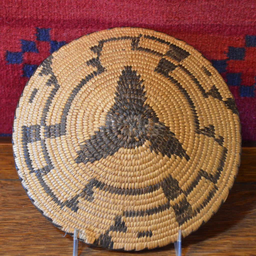 Vintage Pima Willow Basket : Basket 12 - Getzwiller's Nizhoni Ranch Gallery