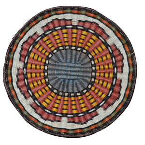 Native American Basket : Hopi Wicker Plaque : Basket 5 - Getzwiller's Nizhoni Ranch Gallery