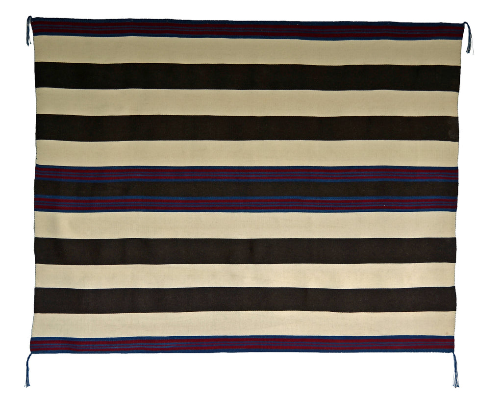 1st Phase Navajo Chief Blanket : Judy Marianito : Churro 1583 - Getzwiller's Nizhoni Ranch Gallery