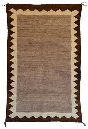 Saddle Blanket - Double Navajo Weaving : Historic : GHT 2013 - Getzwiller's Nizhoni Ranch Gallery