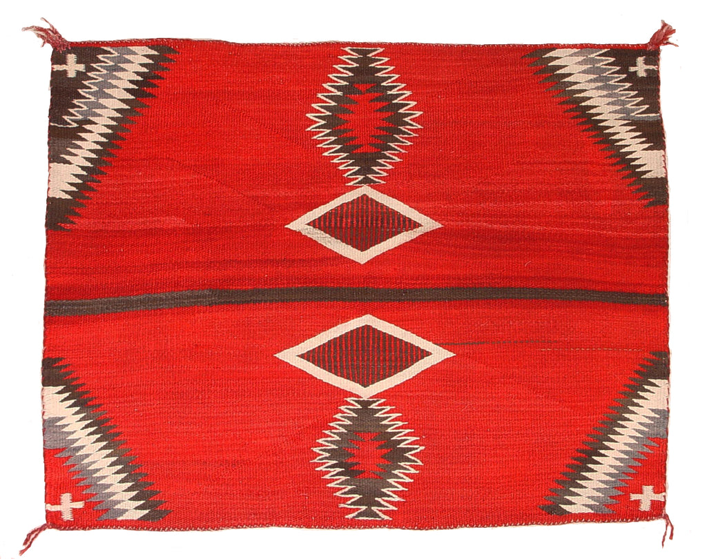 HOLD Antique Navajo Single Saddle Blanket : GHT 2054 - Getzwiller's Nizhoni Ranch Gallery