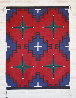 Germantown Style Navajo Weaving : Nellie Dean : 2093 - Getzwiller's Nizhoni Ranch Gallery