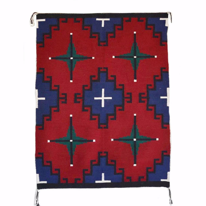 "sold Germantown Style Navajo Weaving : Nellie Dean : 2093 : 33"" x 48"""