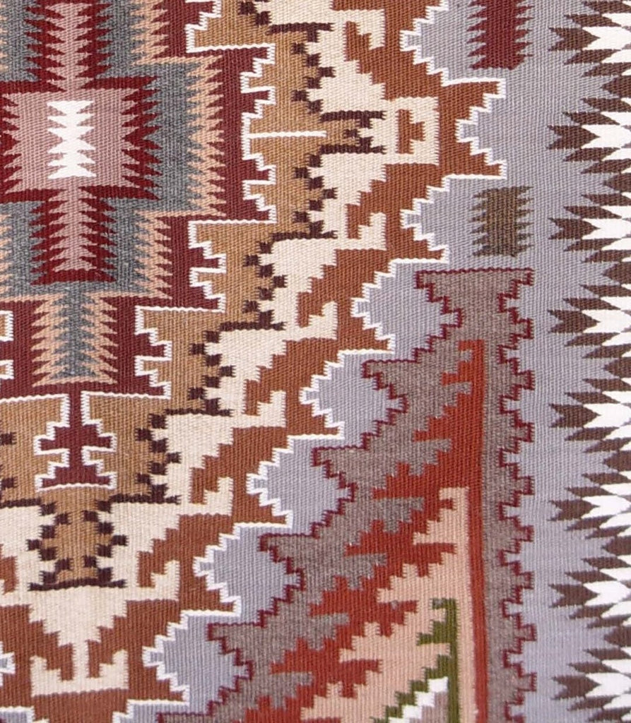 Burntwater Navjo Weaving : Roselyn Begay : 2097 - Burntwater - Contemporary- Getzwiller's Nizhoni Ranch Gallery - NavajoRug.com
