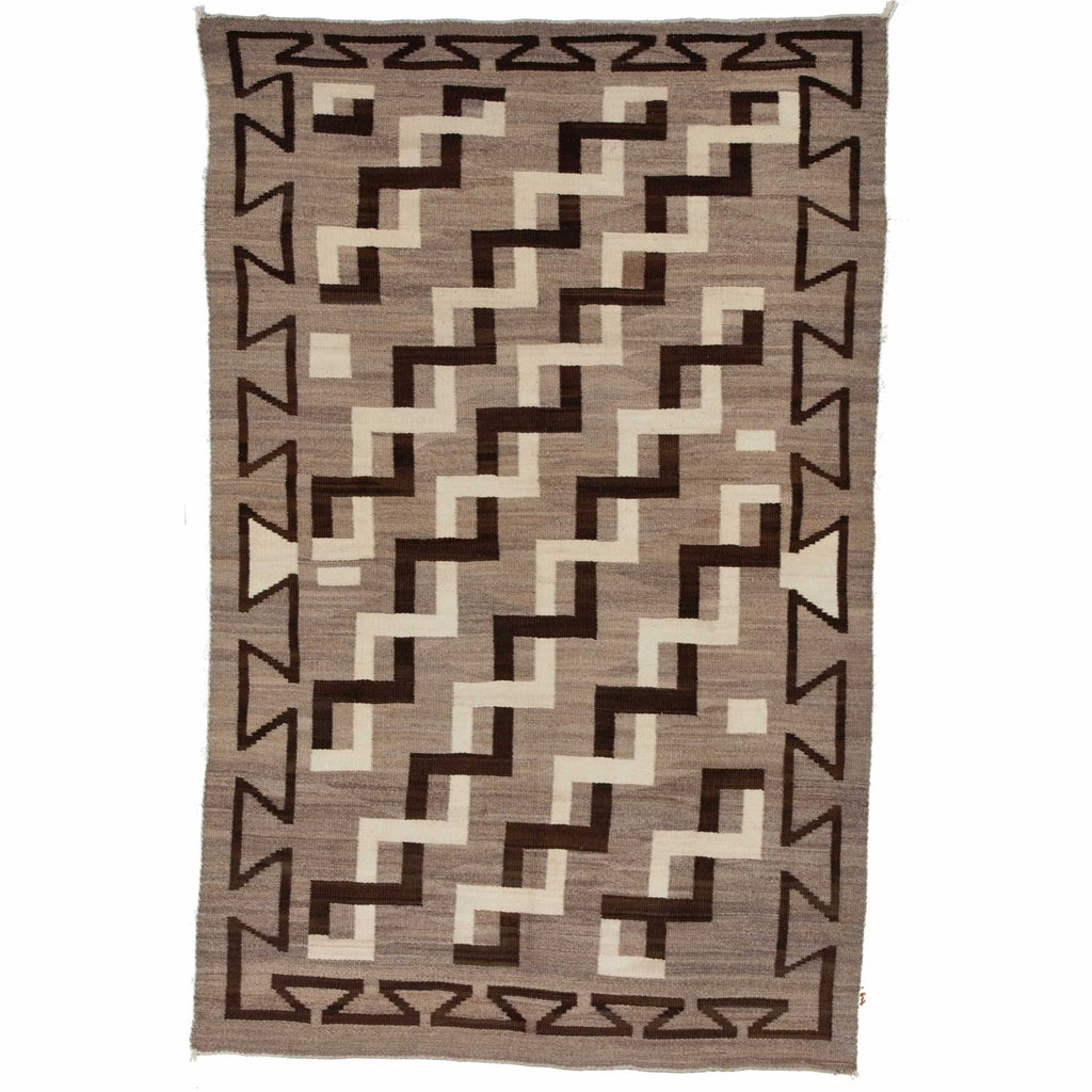 Crystal Navajo Weaving : Historic : GHT 519- AC : 50″ x 79″ - Getzwiller's Nizhoni Ranch Gallery