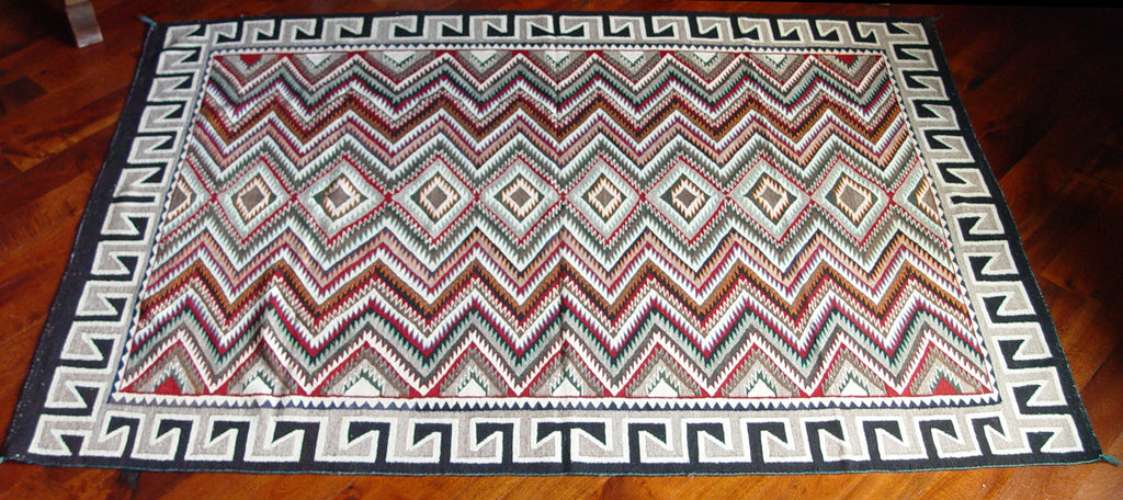 Red Mesa / Teec Nos Pos Navajo Weaving : Historic : GHT 214 - Getzwiller's Nizhoni Ranch Gallery