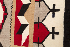 JB Moore/Crystal Variant : Historic Navajo Weaving: PC 114 - Getzwiller's Nizhoni Ranch Gallery