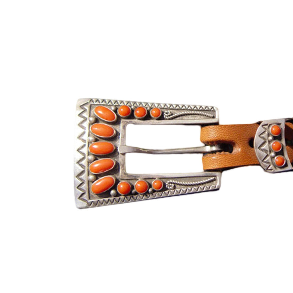 Jewelry : Woman's Ranger Buckle Set : Lee Charley - Getzwiller's Nizhoni Ranch Gallery
