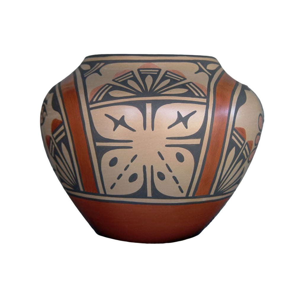 SOLD Zia Pueblo Pottery : Ruby Panana 1