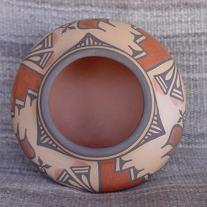 Zia Pueblo Pottery : Ruby Panana : Road Runner Design- rp16 - Getzwiller's Nizhoni Ranch Gallery