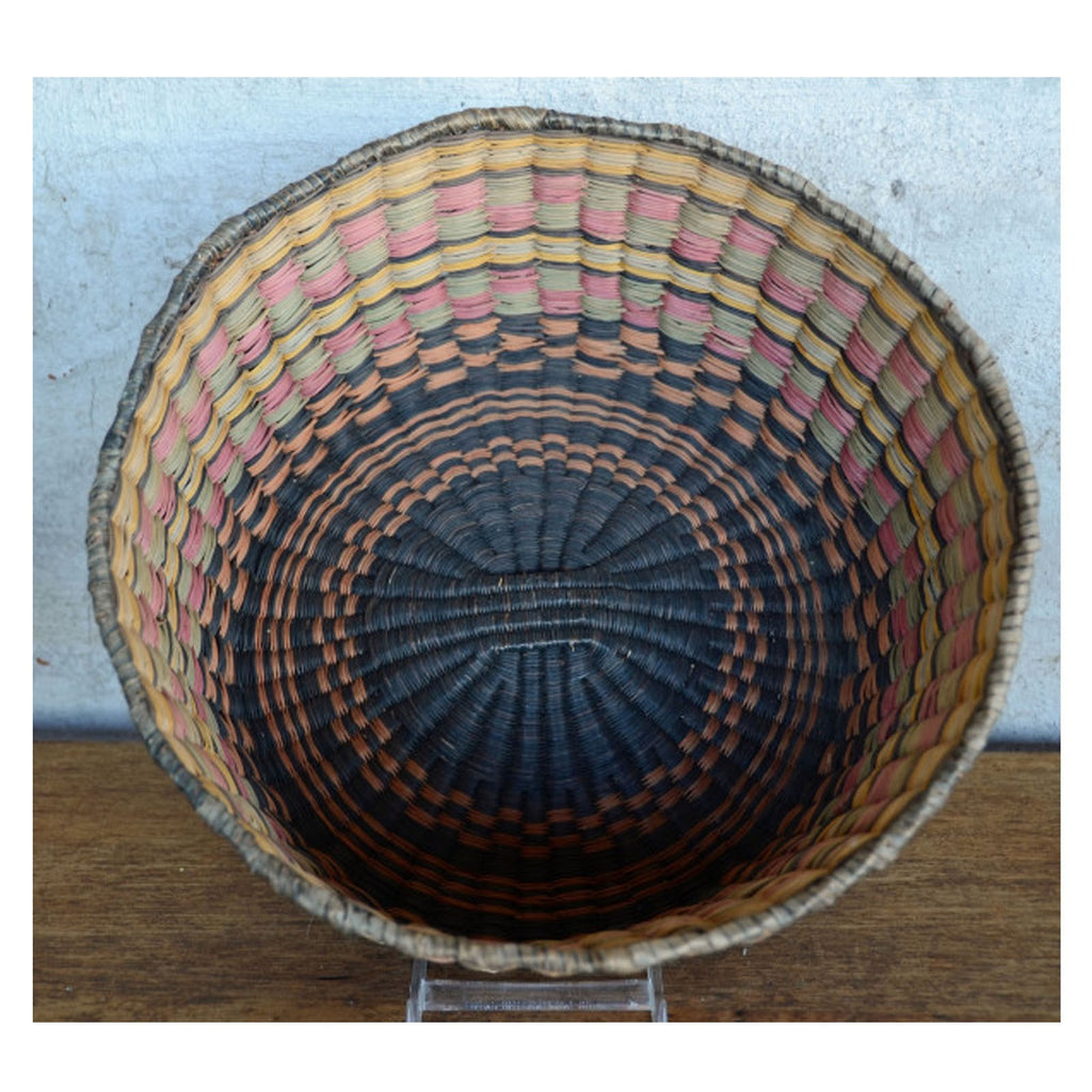 Native American Basket : Hopi - Peach - Getzwiller's Nizhoni Ranch Gallery