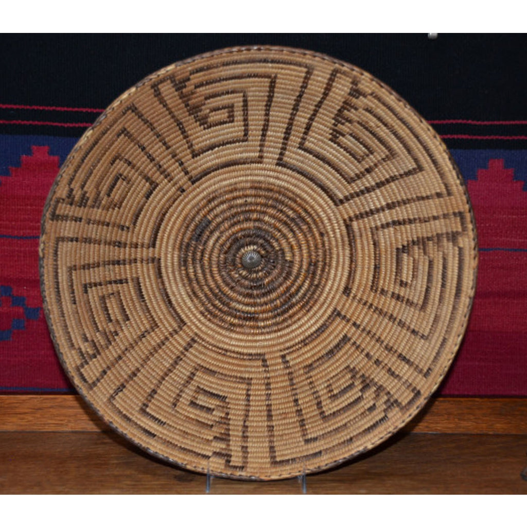 Basket : Pima Willow Basket : Basket 6 - Getzwiller's Nizhoni Ranch Gallery