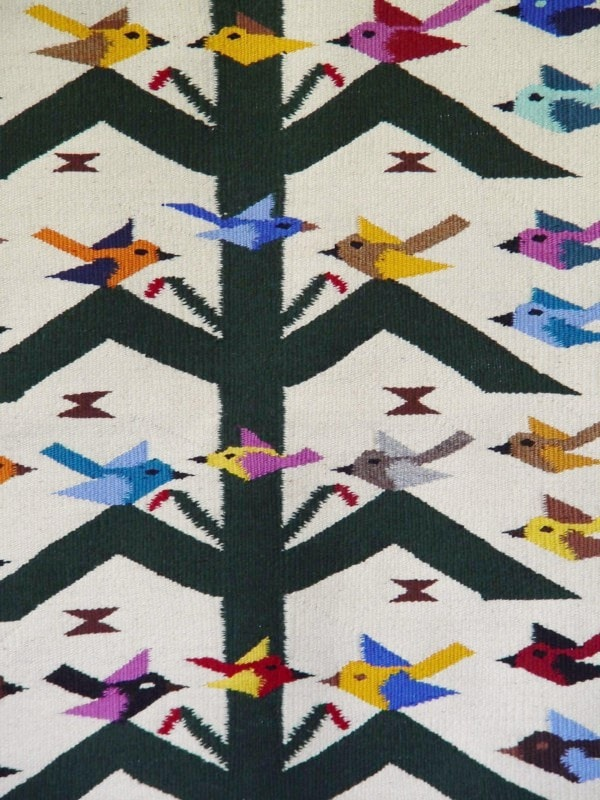 Tree Of Life Navajo Weaving : Wenora Joe : 3024 - Getzwiller's Nizhoni Ranch Gallery