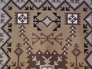 Two Grey Hills / Storm Pattern Navajo Weaving : Mary Lee Begay : AC-11 - Getzwiller's Nizhoni Ranch Gallery