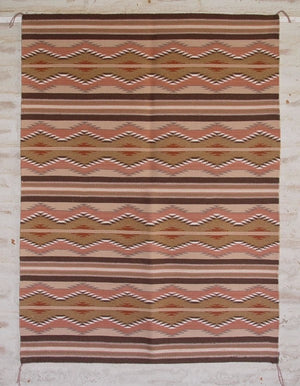 Wide Ruins Navajo Weaving : Pricilla Nelwood : 3079 - Getzwiller's Nizhoni Ranch Gallery