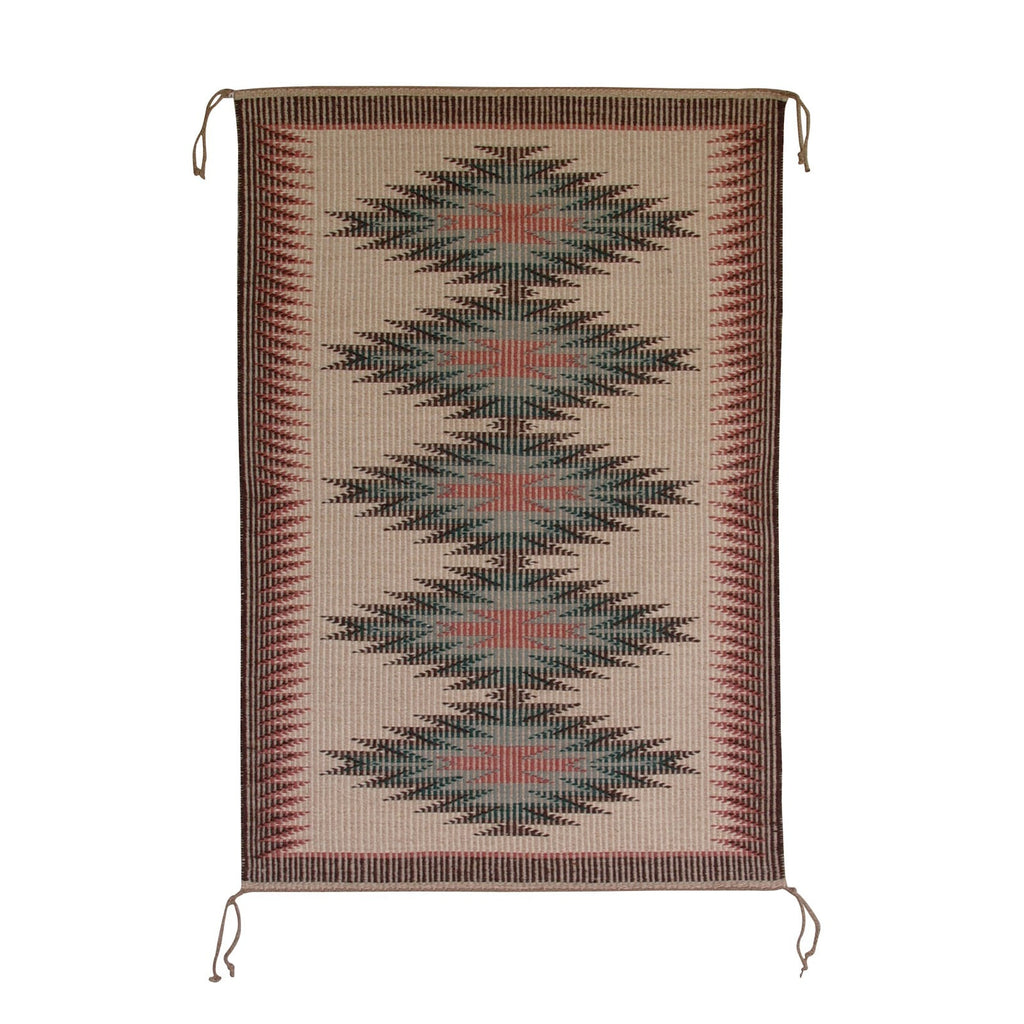 Raised Outline - Newlands Style Navajo Weaving : Evelyn Yazzie : 3098