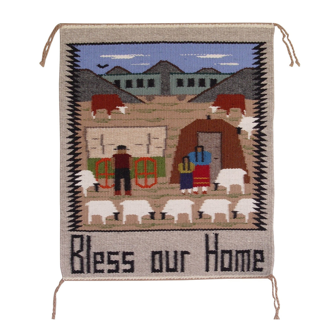 Pictorial - Bless our Home Navajo Weaving : Cecilia Curly: 3103 - Getzwiller's Nizhoni Ranch Gallery
