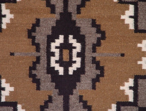 "Two Grey Hills Navajo Weaving : Anne Joe : 3149 : 29"" x 46"" - Getzwiller's Nizhoni Ranch Gallery"