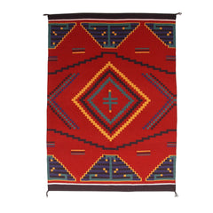 Germantown Style Navajo Weaving : Vina Nakai : 3172