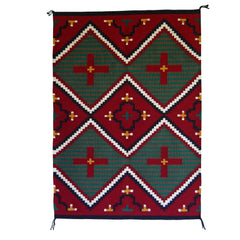 Germantown Style Navajo Weaving : James Joe : 3177
