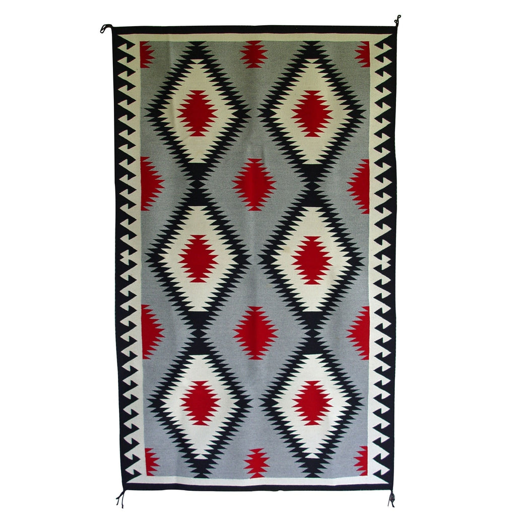 "Chinle : Old Style Navajo Weaving : Susie Begay : 3198 : 46"" x 78"" - Getzwiller's Nizhoni Ranch Gallery"