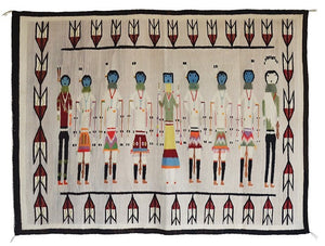 "Yei Be Chei : Historic : GHT 2215 : 62"" x 45"" - Getzwiller's Nizhoni Ranch Gallery"