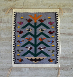 Tree Of Life Navajo Weaving : JoAnne Begay : 3269 - Getzwiller's Nizhoni Ranch Gallery