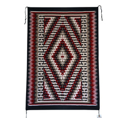 Ganado Navajo Weaving : Thomascita Benally : 3283