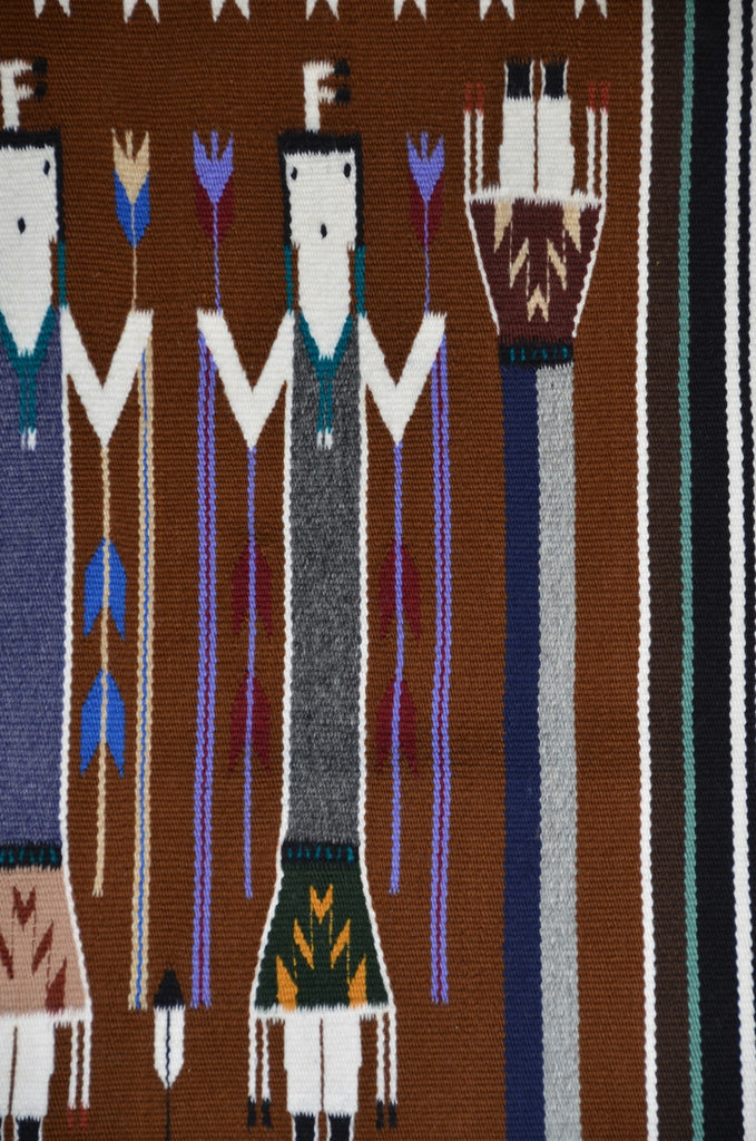 Yei Navajo Weaving : Sandra Chischilly : 3286