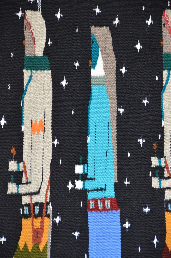 SOLD Nightway Yei be Chei Navajo Weaving : Christine Chischilly : 3288 - Getzwiller's Nizhoni Ranch Gallery