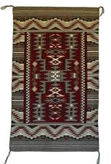 Rug in a Rug Navajo Weaving : Mae Jean Chester : 3294