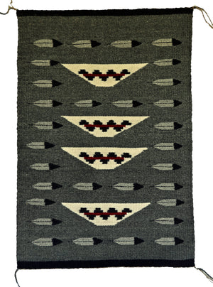 Pictorial Navajo Weaving : Louise Reed : 3299 - Getzwiller's Nizhoni Ranch Gallery