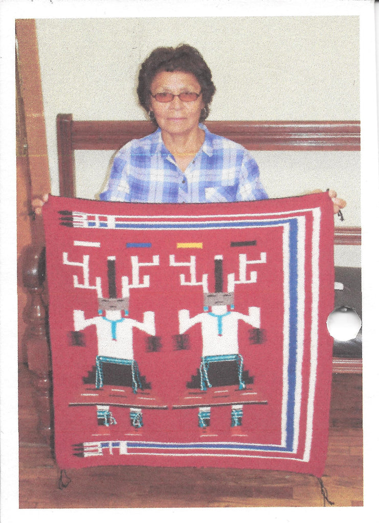 Navajo Weaver Ethelyn Nez
