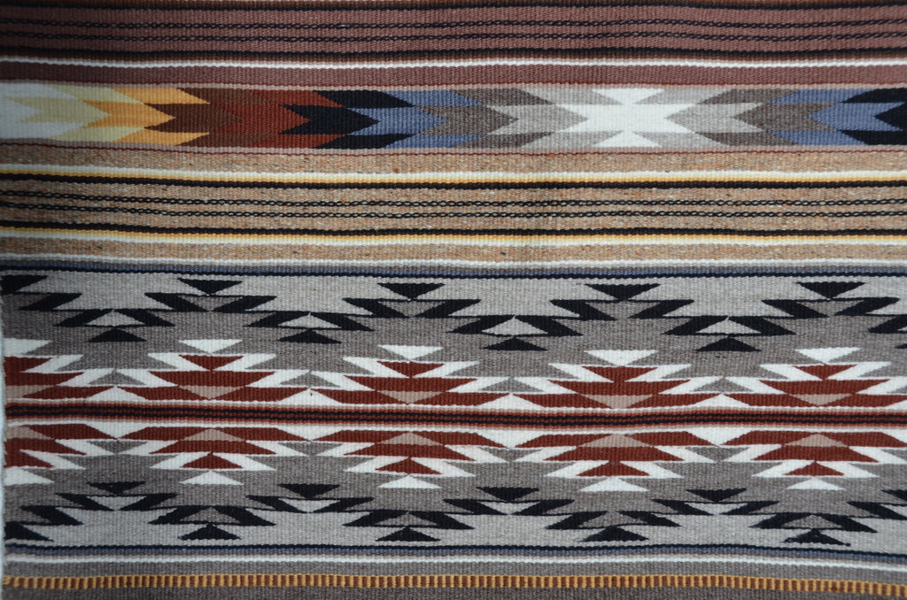 Wide Ruins Navajo rug for sale