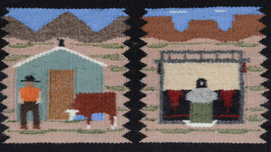 Pictorial : American Indian Rug : Ella Begay : 3328 - Getzwiller's Nizhoni Ranch Gallery