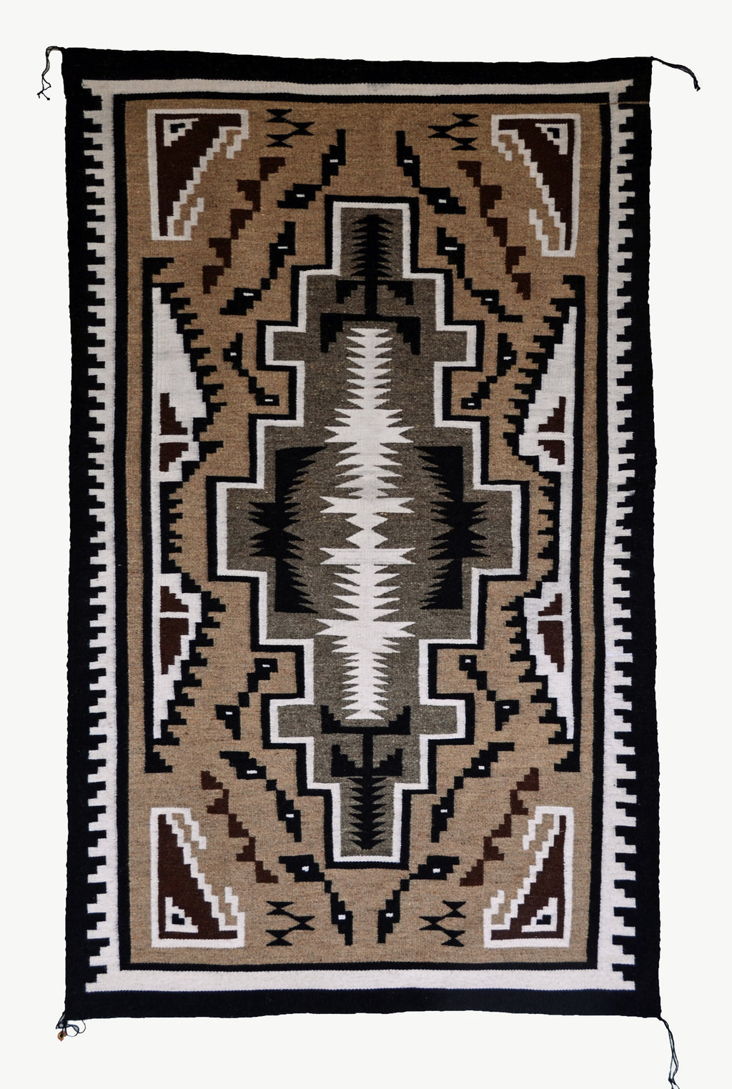 Two Grey Hills Navajo rug : 3337