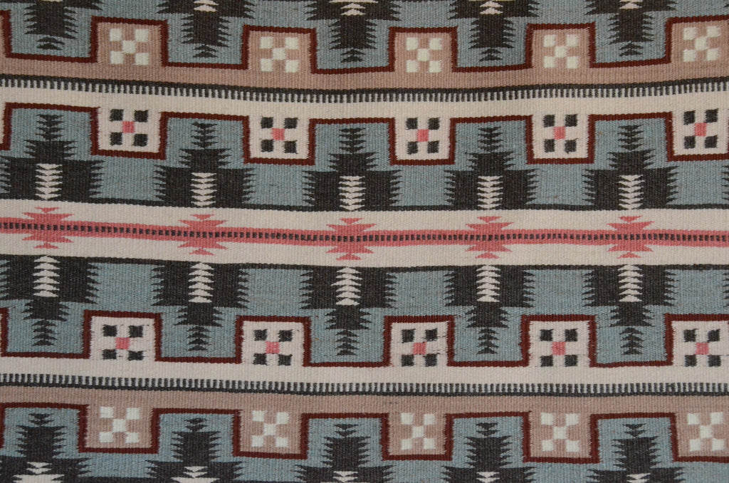 Wide Ruin Navajo Weaving by Lillian Joe 3374