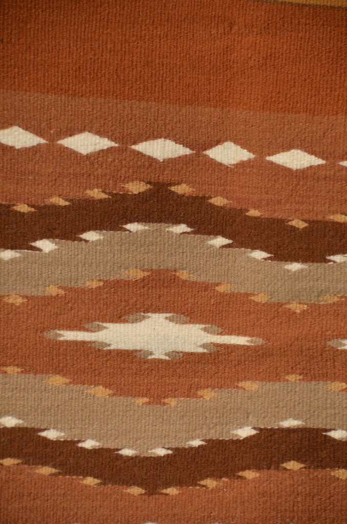 Mary Yellow Horse Wide Ruin navajo weaving  detail photo