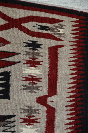 American Indian Rug : Storm Pattern Variant : Gabrielle Chester : 3388 - Getzwiller's Nizhoni Ranch Gallery