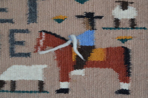 American Indian Navajo Weaving
