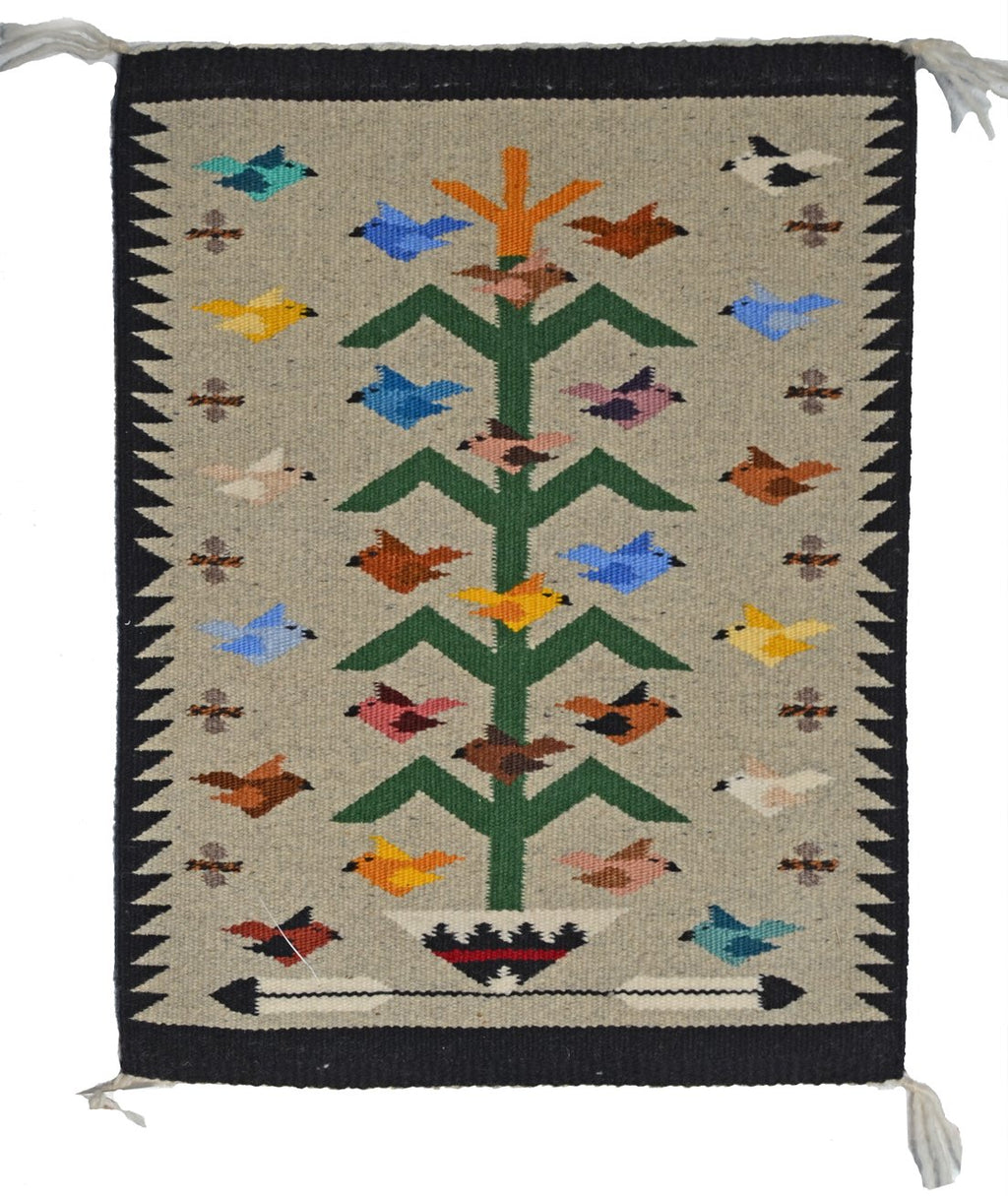 American Indian Navajo Rug Tree of Life